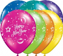 "New Year Balloons - 11"" New Year Party (25pcs)"